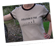 If evolution is true t shirt